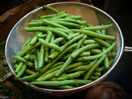Envie de Japon – Haricots verts assaisonnés au sésame