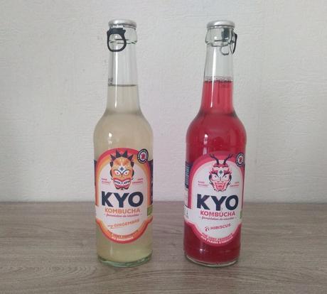 Les thés fermentés Hibiscus ou Gingembre Kyo Kombucha