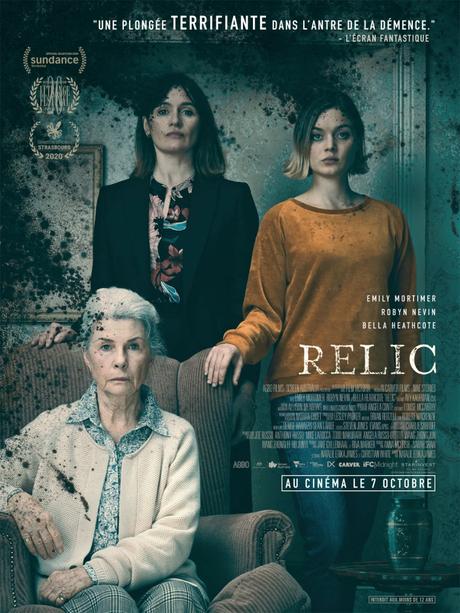 Film : RELIC réalisé par Natalie Erika James