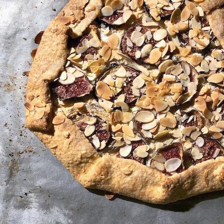 tarte aux figues et aux amandes facile