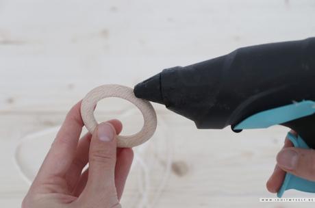 DIY : Cache pot corde