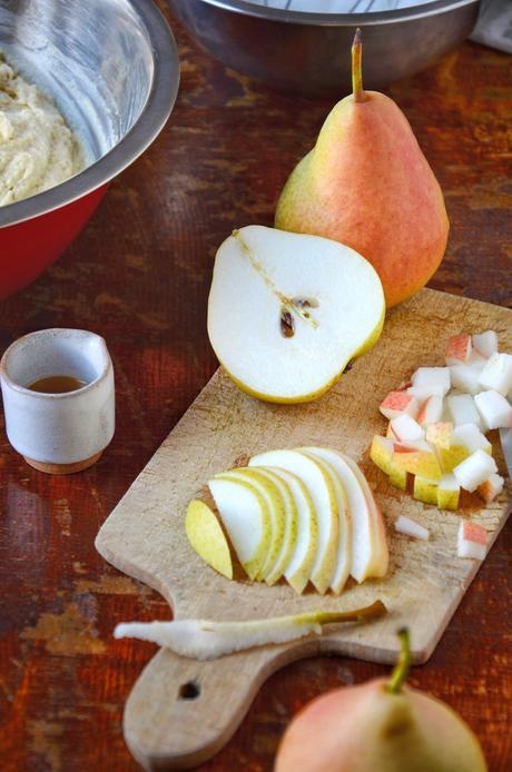 patisserie équilibrée à base de poire bio idée recette dessert régime