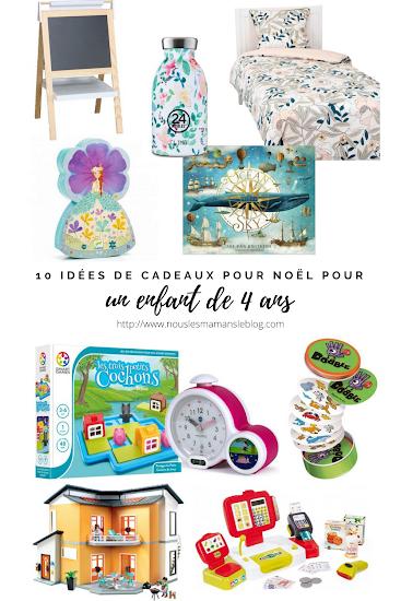 10 idées cadeaux de Noël pour un enfant de 4 ans