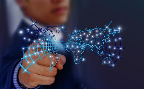 La Technologie, Développeur, Continents, Touch, Doigt