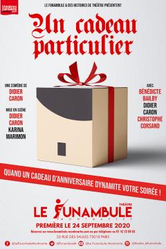 Un cadeau particulier de Didier Caron