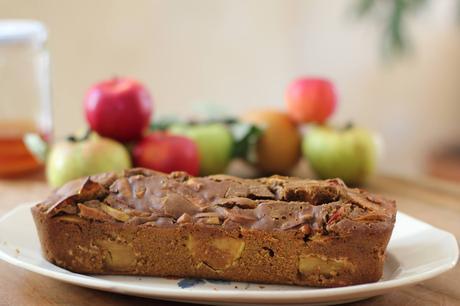Gâteau aux pommes épicé