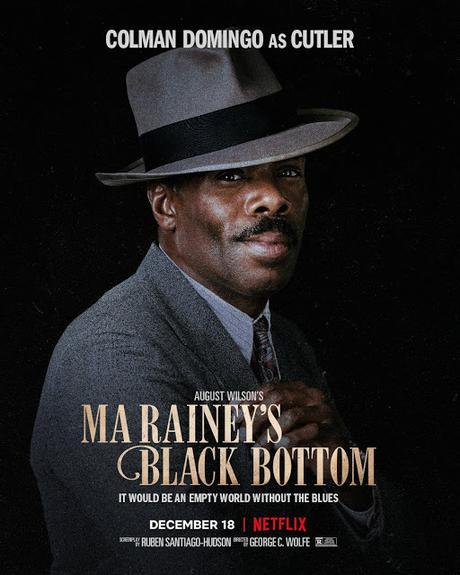Affiches personnages US pour Ma Rainey's Black Bottom de George C. Wolfe