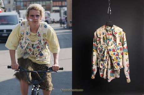 WE ARE WHO WE ARE : Fraser's floral military vest in S1E01