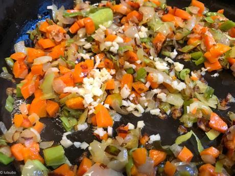 Un peu mexicain – Haricots pinto aux légumes
