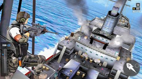 Code Triche FPS Sniper Assassin 3D: Hors ligne Gun Jeux de tir APK MOD (Astuce) screenshots 3