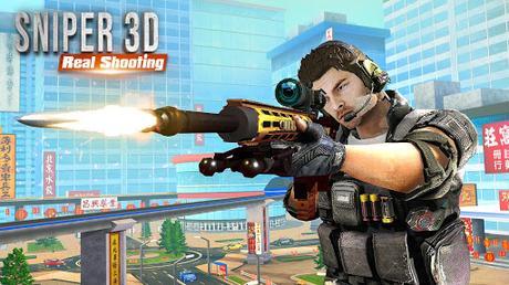 Code Triche FPS Sniper Assassin 3D: Hors ligne Gun Jeux de tir APK MOD (Astuce) screenshots 1