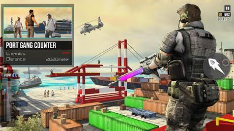 Code Triche FPS Sniper Assassin 3D: Hors ligne Gun Jeux de tir APK MOD (Astuce) screenshots 2