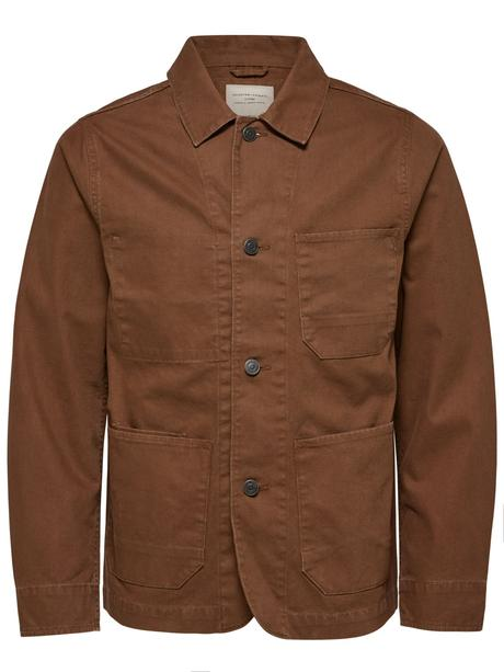 Canvas Worker Jacket by Selected Homme — Thread