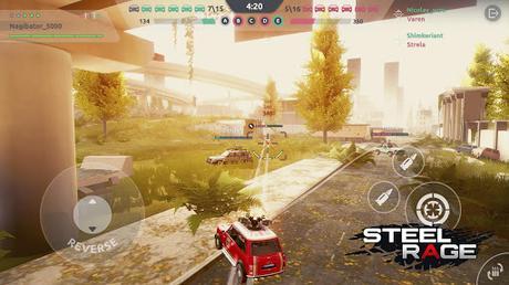 Télécharger Gratuit Steel Rage: Shooter JcJ de véhicules robots APK MOD (Astuce) 6