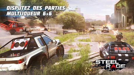 Télécharger Gratuit Steel Rage: Shooter JcJ de véhicules robots APK MOD (Astuce) 1