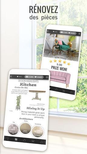 Code Triche Design Home APK MOD (Astuce) 5