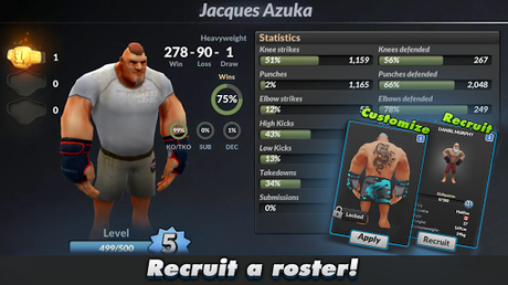 Télécharger MMA Manager APK MOD (Astuce) 3