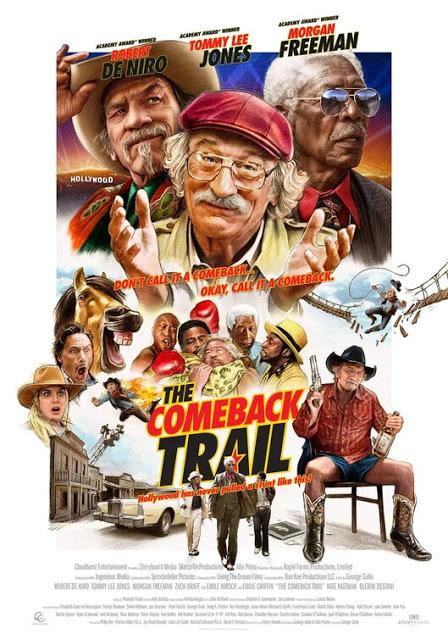 Nouvelle affiche US pour The Comeback Trail de George Gallo