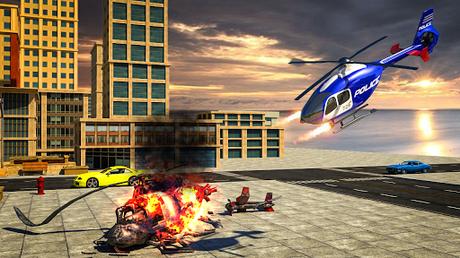 Télécharger Gratuit Police War Robot Superhero: Jeux de robots volants  APK MOD (Astuce) 5