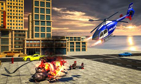 Télécharger Gratuit Police War Robot Superhero: Jeux de robots volants  APK MOD (Astuce) 3