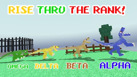 Télécharger Blocky Dino Park: Raptor Attack APK MOD (Astuce) screenshots 2