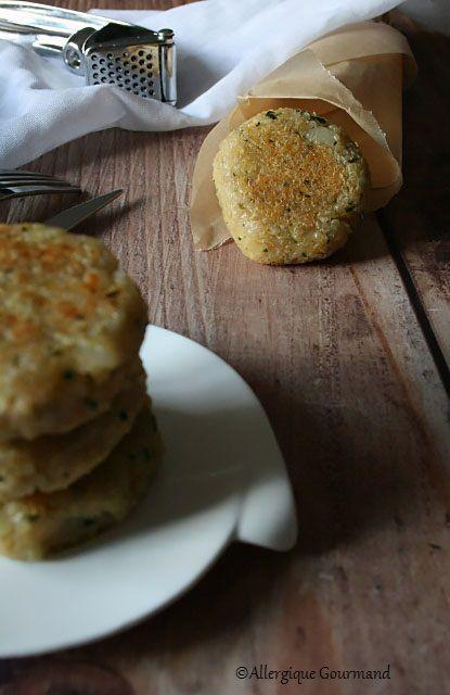 Croquettes  pommes de terre et quinoa { sans gluten, sans lait, sans œufs }