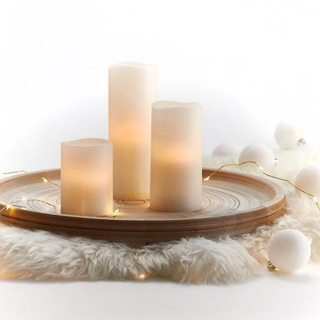 bougies ambiance guirlande lumineuse design - blog déco - clemaroundthecorner