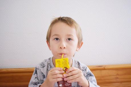 """Les enfants ont goûtés """"Mon premier Cacolac"""""""
