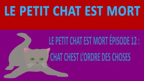 LE PETIT CHAT EST MORT EPISODE 12 : CHAT CHEST L'ORDRE DES CHOSES