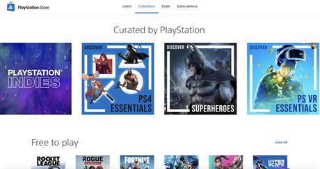 Playstation 5 : le nouveau PS Store a-t-il fuité en photo ?