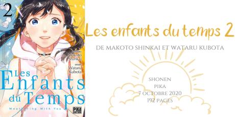 Les enfants du temps #2 • Makoto Shinkai et Wataru Kubota