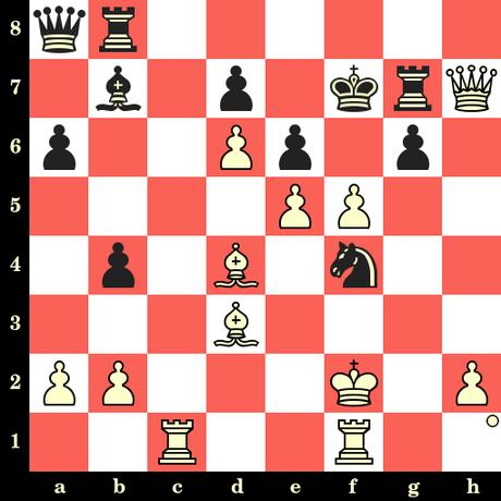Les Blancs jouent et matent en 4 coups - Wilhelm Steinitz vs Charles Maurian, New Orleans, 1883