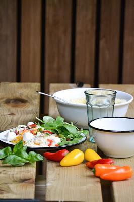 Mon séjour à Nutchel et une recette de salade composée