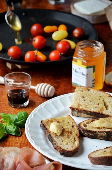 idée repas brunch tartine salé cuisine de saison
