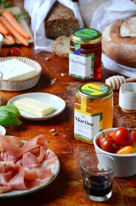 recette sale cuisine française miel de lavande romarin