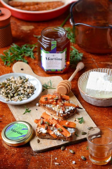 idée cuisine maison tapas carotte végétarienne vegan Quinsou chef étoilé