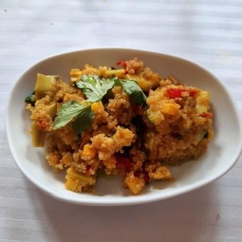 Quinoa, petits leìgumes, © Patrick Faus . (1)