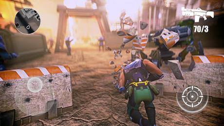 Télécharger Gratuit Evolution 2: Jeux de guerre Sci fi Jeu action APK MOD (Astuce) screenshots 2