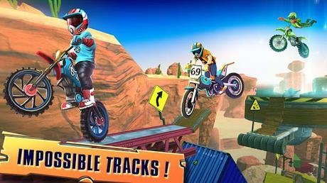 Code Triche course de vélo trial: xtreme jeux de course de APK MOD (Astuce) screenshots 2