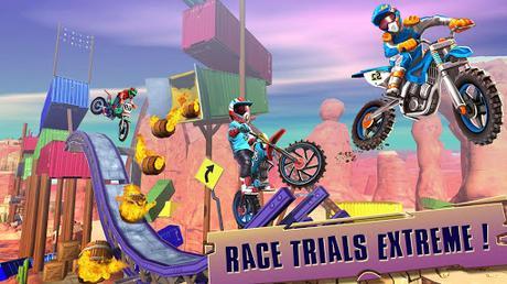 Code Triche course de vélo trial: xtreme jeux de course de APK MOD (Astuce) screenshots 5