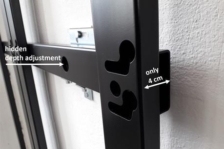 OMB DvLED : les nouveaux supports pour murs LED ultra-plats