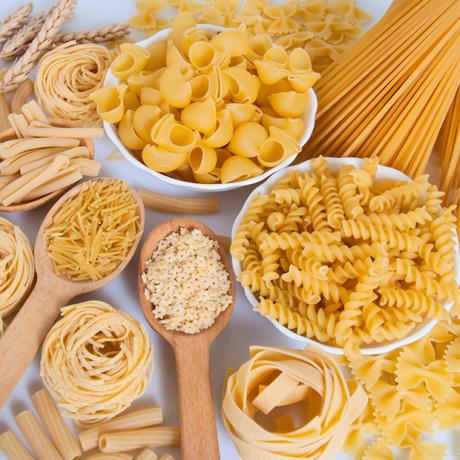 La journée mondiale des pâtes : Spaghettis aux courgettes et sauce gorgonzola