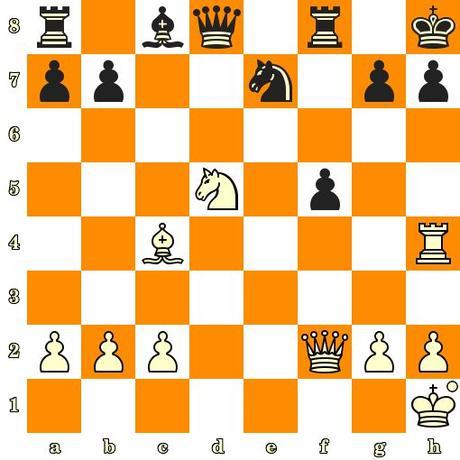 Les Blancs jouent et matent en 3 coups - Siegbert Tarrasch vs Eckart, Nuremberg, 1892