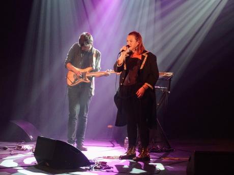 Evelyne Gallet à Bleu pluriel - centre culturel de Trégueux, le 23 octobre 2020