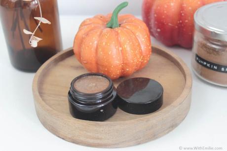 Recette de gommage pour les lèvres aux épices pumpkin spice