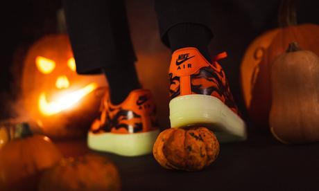 "Où acheter la Nike Air Force 1 ""Orange Skeleton"" 2020"