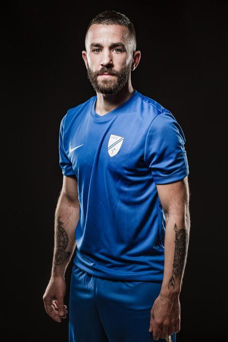 Portraits photo d'un joueur de foot à Grenoble