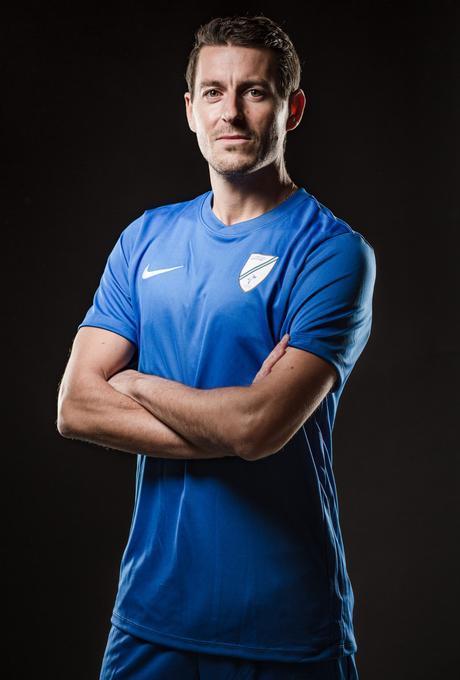 Portraits photo d'un footballeur