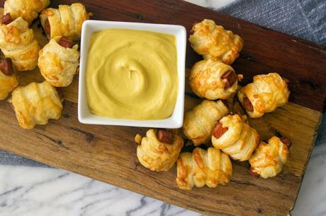 Feuilletés à la mortadelle et au fromage de Giada de Laurentiis