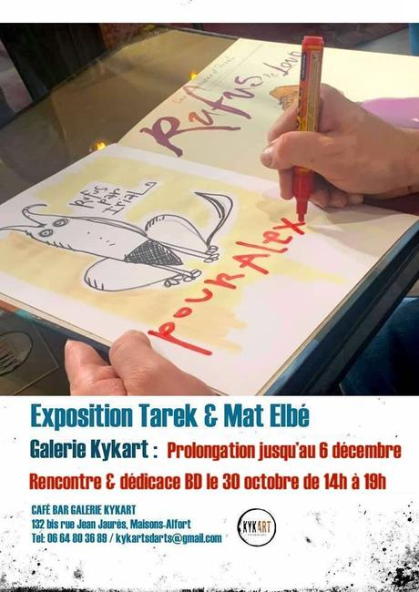 Nouvelle rencontre & dédicace à la galerie Kykart